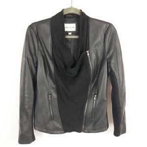 Olive & Oak Faux Leather Moto Jacket